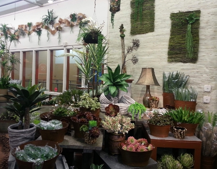 amazing sellection of wholesale silk flowers, succulents, florist supplies, and wedding decor